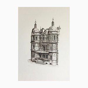 André Renoux, L'hôtel Particulier, Originale Lithographie