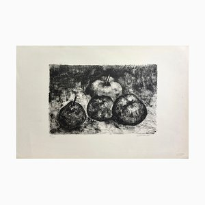 André Minaux , Still Life, Circa 1955 , Hand Signed Lithograph