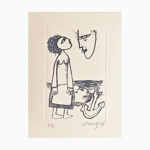 Corneille , the Sailor's Wife, 1998 , Original Hand Signed Lithograph
