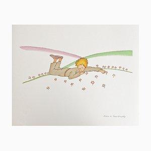 Antoine De Saint,exupery (after) the Little Prince Lot of 3 Color Lithographs