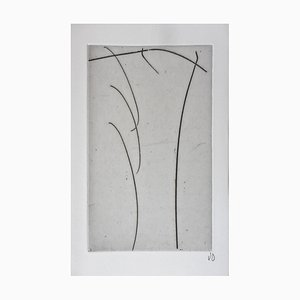 Olivier Debre , ''untitled'', 1994, Original Signed Etching