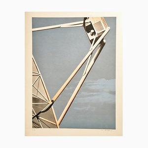Peter Klasen Telecommunications, 1978 Original Lithograph