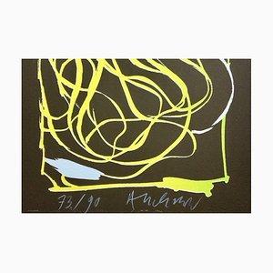 Pierre Alechinsky , ''sans Titre'' , 2006 , lithograph original signature
