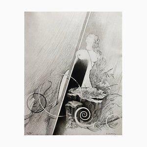 Dominique Sosolic , Being Beauteous, 1988, Gravure original signature