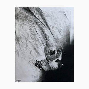Dominique Sosolic , Chant Du Coq, 1986, Gravure original signature