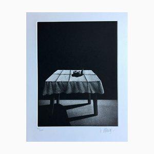 Michel Mathonnat, Around Paul Verlaine, 1987, 8er Set Original Stiche