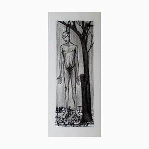 Bernard Buffet , the Passion of Christ, 1954 , Original Drypoint