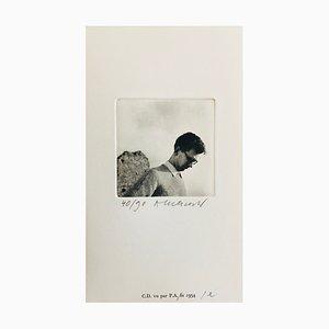 Pierre Alechinsky, Christian Dotremont, 2007, signierte Tiefgravur