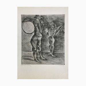 Claude Weisbuch, Men Orchestras, 1950, Pointe-Dryer