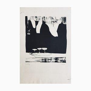 Claude Weisbuch, Les Plastrons, 1950, Litografía