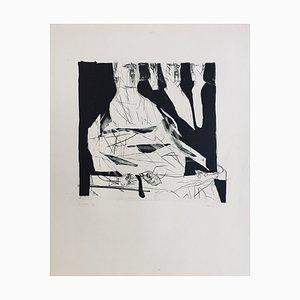 Claude Weisbuch, La Loge, 1950, Lithographie