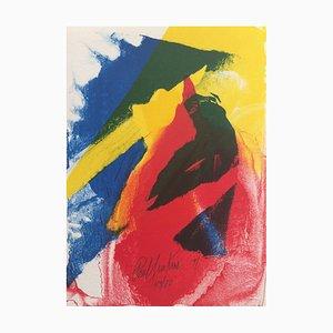 Paul Jenkins, Ohne Titel, 1991, Originale Lithographie