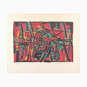 Pierre Dmitrienko , ''saisons Iv'' , 1957 , Original Lithograph, Signed