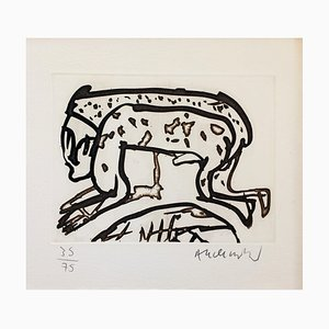Pierre Alechinsky , Untitled, 1991 , Hand Signed Etching