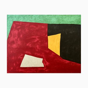Serge Poliakoff (after) , Untitled, 1950 , Lithograph