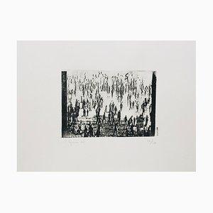 Philippe Cognee, Casablanca Vii, 2003, signierte originale Lithographie