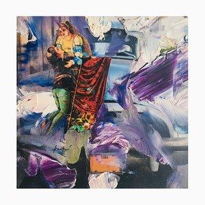 Hastaire , Roméo Et Juliette Vi, 2009 , Mixed Media on Signed Canvas