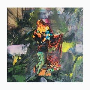 Hastaire , Roméo Et Juliette Xv, 2009 , Mixed Medium Sur Toile , signed