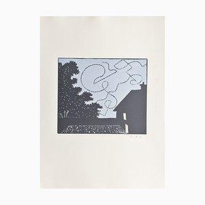 François, xavier Lalanne, the Bat, 2003, Signierte originale Radierung
