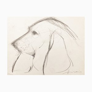 Camille Hilaire, Margot, 1980, Drawing