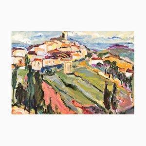 Marie Sion, Saint-Paul de Vence, 2015, Oil on Canvas