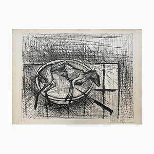 Bernard Buffet, Rabbit, 1955, Radierung