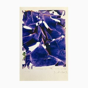 Simon Hantaï, Empreinte II, 2003, Pigmentdruck