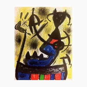 Joan Miró, der Steinkreis, 1970, Lithographie