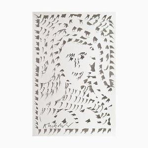 Pierre Alechinsky, 2016, Drawing