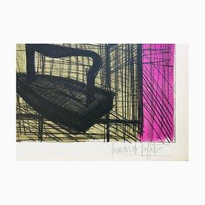 Bernard Buffet, Irons, 1955, Lithographie