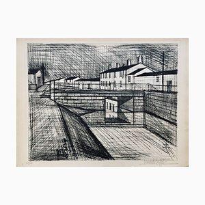 Bernard Buffet, Le Canal, 1955, Lithograph
