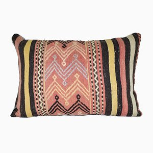 Striped Turkish Kilim Cushion Cover