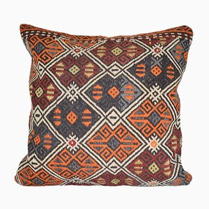Large Turkish Kilim Cushion Cover