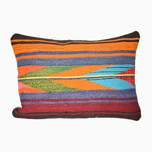 Vintage Wool Turkish Kilim Cushion Cover