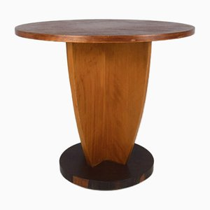 Art Deco Coffee Table in Oak and Coromandel, 1930s
