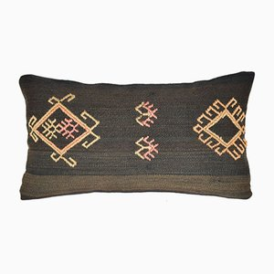 Anatolian Turkish Cicim Kilim Cushion Cover