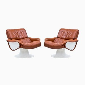 Saturnus Lounge Chairs by Yrjö Kukkapuro for Haimi, 1960s, Set of 2