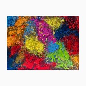Giancarlo Foglietta, Rain of Colors, 2008, Painting
