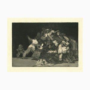 Francisco Goya, Disparate General, 1875, Etching