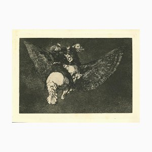 Francisco Goya, Disparate Volante, 1875, Etching