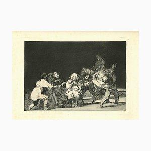 Francisco Goya, Loyalty, 1875, Etching