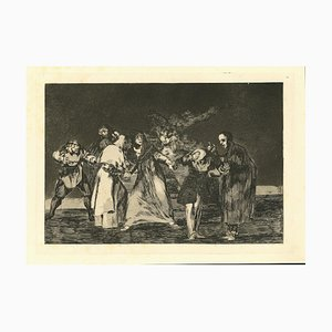 Francisco Goya, the Exhortations, 1875, Radierung