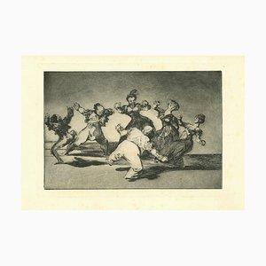 Francisco Goya, Disparate Alegre, 1875, Radierung