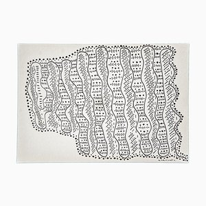 Maurizio Gracceva, Composition, 2017, Ink Drawing
