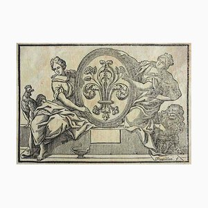 Florence, Historisches Wappen, 19. Jahrhundert