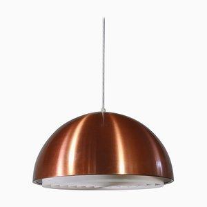 Danish Modern Copper Louisiana Pendant Lamp by Vilhelm Wohlert & Jørgen Bo for Louis Poulsen, 1960s
