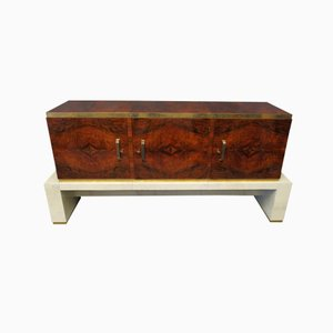 Italian Art Deco Walnut Sideboard, 1920