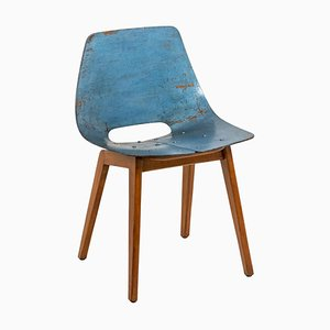 Amsterdam Chair in Plywood by Pierre Guariche, 1954