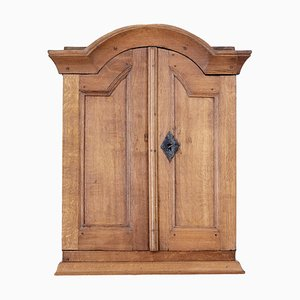 18th Century Swedish Oak Wall Cabinet