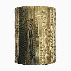 Candelabros esculpidos de latón macizo de William Guillon